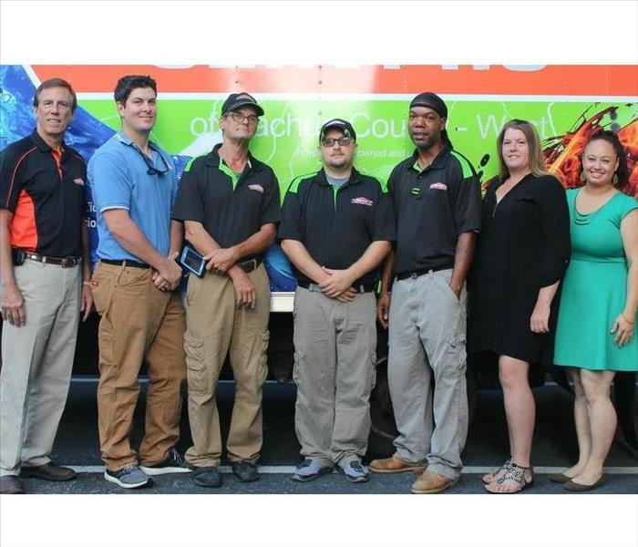 Why SERVPRO We're not just a brand you can trust, but a family you can trust!