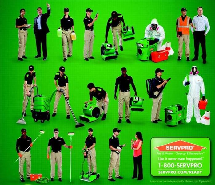 Why SERVPRO We are the Experts