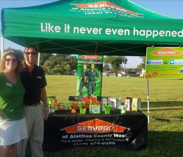 Why SERVPRO We Love our Community