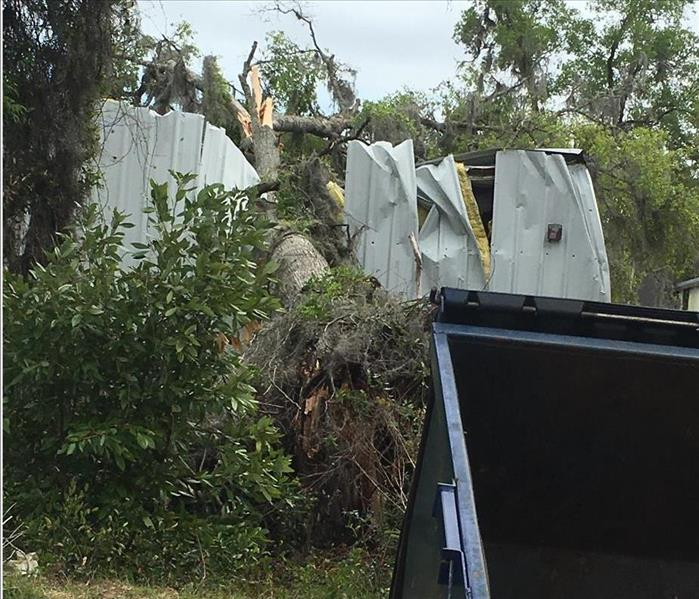 Storm Damage Strong storms hit Gainesville in the early morning hours of 3/19/18… Were you ready?