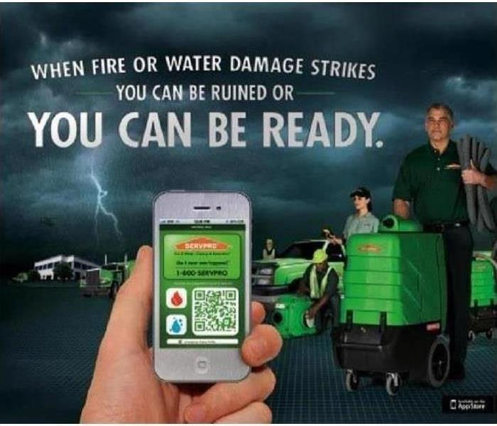Commercial In honor of National Backwards day why not keep your business prepared before disaster with and ERP with SERVPRO.