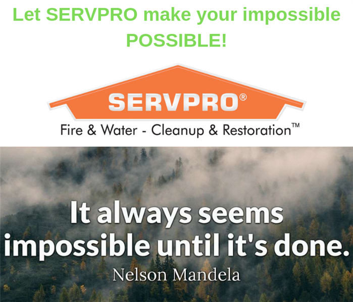 Why SERVPRO We are Faster to Any Size Disaster